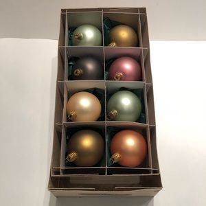 SMITH & HAWKEN | Glass Ball Ornament Set